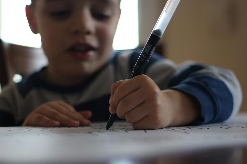 író kisfiú